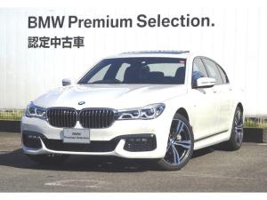 BMW 7シリーズ 740d xDrive Mスポーツ ブラックレザー S/R