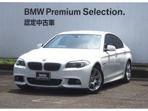 BMW 5シリーズ 523i Mスポーツ ブラックレザー 禁煙車 キャンセラー