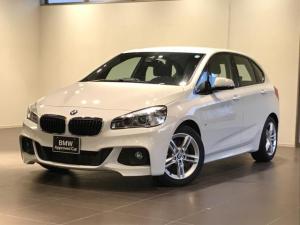 BMW 2シリーズ 218iアクティブツアラー Mスポーツ パーキングサポートパッケージ 禁煙車 LEDライト オートエアコン 純正ナビゲーションシステム ETCミラー