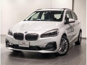 BMW 2シリーズ 218d xDriveアクティブツアラーラグジュアリ パノラマサンルーフ ACC ブラックレザー シートヒーター ヘッドアップディスプレー 電動シート オートトランク コンフォートアクセス バックカメラ