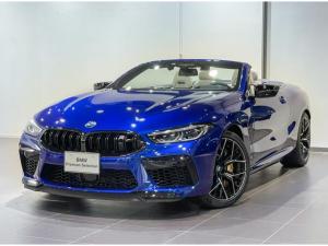 BMW M8 M8カブリオレ コンペティション カーボンセラミックブレーキ アイボリーメリノレザー ナイトビジョン プロテクションフィルムボディー全面施工済み セラミックコーティング レーザーライト コンフォートアクセス バックカメラ