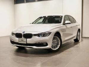 BMW 3シリーズ 320iラグジュアリー ブラックレザー アクティブクルーズコントロール シートヒーター 電動シート レーンアシスト ドライブレコーダー LEDライト ETC2.0 コンフォートアクセス バックカメラ 純正ナビゲーション