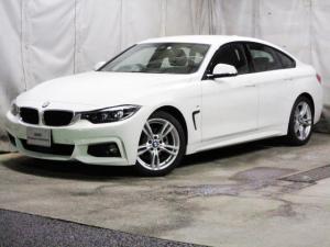 BMW 4シリーズ 420iグランクーペ Mスピリット タッチパネル ACC