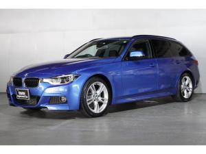 BMW 3シリーズ 318iツーリング Mスポーツ タッチパネルHDDナビゲーション ブラックレザー スマートキー 衝突軽減ブレーキ レーンアシスト バックカメラ コーナーセンサー LEDヘッドライト BMW正規ディーラー認定中古車