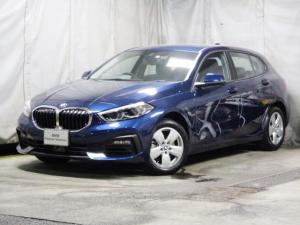 BMW 1シリーズ 118i プレイ タッチパネルHDDナビゲーション 電動シート スマートキー オートホールド機能 衝突軽減ブレーキ レーンアシスト バックカメラ 後退アシスト LEDヘッドライト BMW正規ディーラー認定中古車