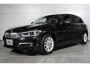 BMW 1シリーズ 118i スタイル 後期モデル HDDナビゲーション スマートキー 衝突軽減ブレーキ レーンアシスト バックカメラ コーナーセンサー LEDヘッドライト BMW正規ディーラー認定中古車