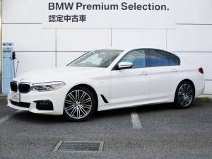 BMW 5シリーズ 523d xDrive Mスピリット 19インチ HDDナビゲーション ヘッドアップ スマートキー 液晶メーター 衝突軽減ブレーキ レーンアシスト 全方位カメラ コーナーセンサー LEDヘッドライト BMW正規ディーラー認定中古車