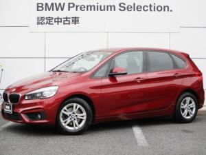 BMW 2シリーズ 218dアクティブツアラー HDDナビゲーション 360度ドライブレコーダー リモコンキー 衝突軽減ブレーキ レーンアシスト バックカメラ コーナーセンサー LEDヘッドライト BMW正規ディーラー認定中古車