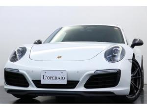 ポルシェ 911 911カレラT 2人乗り スポクロ スポエグ GTステア PASM PDLS付キセノン カレラTインテリアPKG 純正PCMナビ バックモニター シートH 電動格納ミラー ヘッドレスト刺繍 サイドデカール