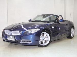 BMW Z4 sDrive35i 306ps /前後ブレーキローター・パッド・イグニッションコイル・プラグ交換/電子7速DCTパドルシフト/オートクルーズ/禁煙/ベージュ本革/シートヒータ/HDDナビ/テレビ/音楽サーバ/電動オープン