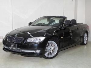BMW 3シリーズ 335iカブリオレ 25年最終モデル /ヘッドライト純正ホワイトLEDアイライン/純正LEDレッドテール/電子式シフト7速DCT/パドルシフト/リモートオープンシステム/スマートキーシステム/禁煙/1オーナー/記録簿付き