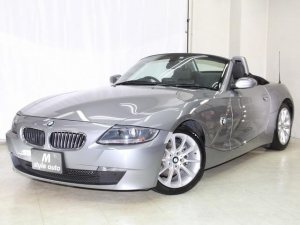 BMW Z4 ロードスター2.5i 後期モデル 黒革 記録簿 電動オープン