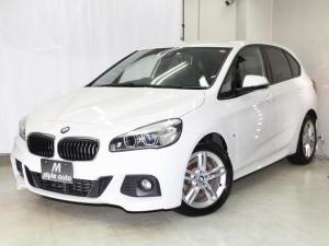 BMW 2シリーズ 218dアクティブツアラー Mスポーツ ディーゼル/BMW ConnectedDrive/アルカンターラレザーシート/禁煙/1オーナ記録簿/ナビ/フルセグTV走行視聴可/バックカメラ/保証付き/