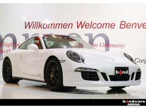 ポルシェ 911 911カレラ4GTS スポーツエキゾースト レザーインテリア