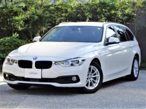 BMW 3シリーズ 320iツーリング 当店買取車両 ワンオーナー HDDナビ バックカメラ アクティブクルーズ レーダーブレーキ 車線逸脱警告 ブラインドスポットモニター パワートランク LEDヘッドライト