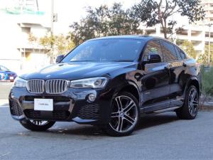 BMW X4 xDrive 28i Mスポーツ 当店買取車両 スライディング&チルトルーフ コンフォートアクセス アクティブクルーズ レーダーブレーキ フルセグTV ナビバックカメラ フルレザー電動シート フットオープナー付パワートランク