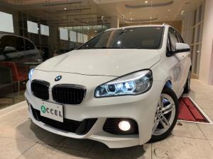 BMW 2シリーズ Mスポーツ 純正ナビ&バックモニター 衝突軽減ブレーキ