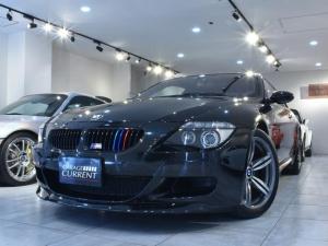 BMW M6 ベースグレード ユーザー様買取車両 タイヤ、ブレーキパッド交換済み 専用テスター診断済みディーラー車 取説 新車時保証書 整備記録簿12枚 スペアキー