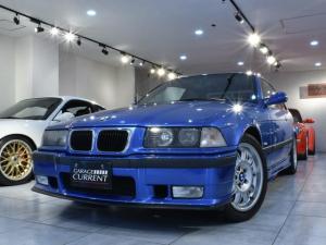BMW M3 M3クーペ ワンオーナー 品川35継承可能 ディーラ車 後期M3C エストリルブルー 6速マニュアル 整備記録簿 ユーザー様買取車両 フルオリジナル 純正スポーツシート 純正ステアリング