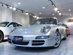 ポルシェ 911 911カレラS 過去販売車両 6速マニュアル 整備記録簿10枚 スポエグ オールレザーインテリア シートヒーター サンルーフ サイバーナビ インタミ対策済み 専用テスター診断済み