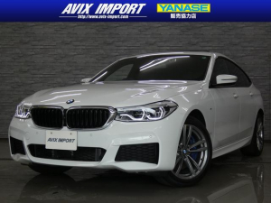BMW 6シリーズ 630i グランツーリスモ Mスポーツ 新車保証 SR 黒革