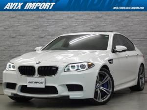 BMW M5 M5 右H 後期 衝突回避 SR 黒革 ナビ TV 全周カメラ PTS クルコン パワーシート ヒーター ベンチレーター ソフトクローズドア パワートランク コンフォートアクセス LEDライト 20AW