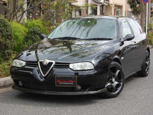 アルファロメオ アルファ156スポーツワゴン 2.5 V6 24V Qシステム フェイズ2 17インチAW