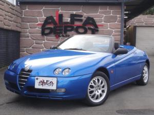 アルファロメオ アルファスパイダー 2.0 ツインスパーク 左ハンドル 5速MT 電動オープン 916スパイダー最終モデル