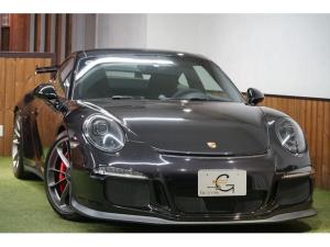ポルシェ 911 911GT3 ジェットブラックメタリック スポーツクロノパッケージ フロントリフトシステム プロテクションフィルム シートヒーター 純正20AW 純正ナビTV バックカメラ ディーラー整備 記録簿 ディーラー車
