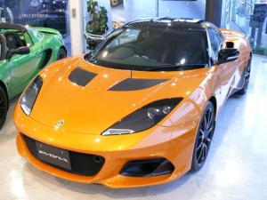ロータス エヴォーラ GT410 2×2 グロスブラックエクステリアカラーパック 新車未登録車 バーントオレンジ(プレミアムペイント) インテリアカラーパック メーカー3年保障