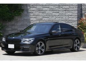 BMW 7シリーズ 750i Mスポーツ 黒革 SR レーザーライト 20AW