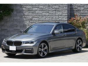 BMW 7シリーズ 750iMスポーツ サンルーフ コニャック革 レーザーライト