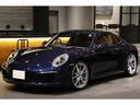 ポルシェ/ポルシェ 911カレラ4 スポーツクロノ 赤革 スポーツエグゾースト