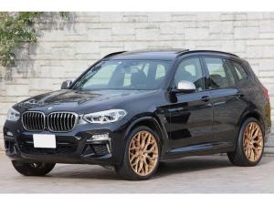 BMW X3 M40d セレクトPKG パノラマサンルーフ 黒革 ハーマンカードン 純正21インチAW ワンオーナー