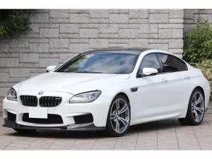 BMW M6 グランクーペ Individualブラウンフルレザーインテリア 3Dデザインカーボンエアロ Bang&Olufseサウンド OP20インチAW