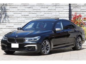 BMW 7シリーズ M760Li xDrive V12ツインターボ ブラウンレザー リアエンターテイメント Bowers&Willkins スカイラウンジサンルーフ レーザーライト