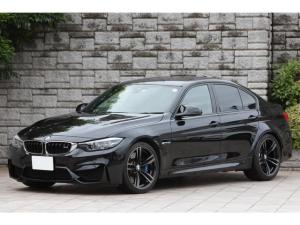 BMW M3 M3 ブラックレザー 純正19インチAW ハーマンカードン タッチパネル対応iDriveナビ 後期LCIモデル ワンオーナー