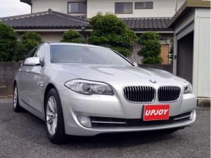 BMW 5シリーズ 523iツーリング 4気筒ターボ コンフォートアクセス アイドリングストップ iDrive ナビ バックカメラ 地デジTV 記録簿