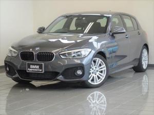 BMW 1シリーズ 118d Mスポーツ LEDヘッドライト リヤビューカメラ ドライバーアシスト パークディスタンスコントロール ブレーキ機能付きクルーズコントロール 17AW