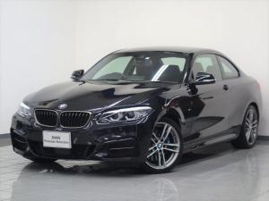BMW 2シリーズ M240iクーペ ブラックレザー アダプティブMサスペンション リヤビューカメラ コンフォートアクセス ドライバーアシスト アクティブクルーズコントロール パークディスタンスコントロール アダプティブLEDヘッドライト