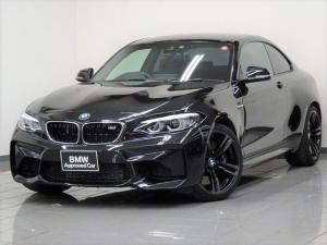 BMW M2 ベースグレード ブラックレザー コンフォートアクセス リヤビューカメラ パークディスタンスコントロール(リヤ) ブレーキ機能付きクルーズコントロール ドライバーアシスト 19インチMダブルスポークアロイホィール