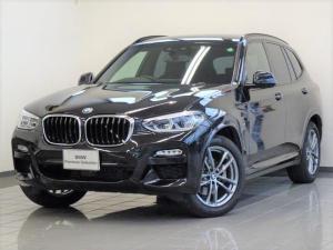BMW X3 xDrive 20d Mスポーツ ブラックレザー コンフォートアクセス ドライバーアシストプラス ハイビームアシスタント ヘッドアップディスプレー アダプティブLEDヘッドライト HiFiスピーカー 19インチMアロイホィール