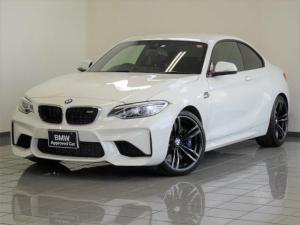 BMW M2 ベースグレード M-DCT ブラックレザー コンフォートアクセス リヤビューカメラ パークディスタンスコントロール(リヤ) ブレーキ機能付きクルーズコントロール ドライバーアシスト 19インチMダブルスポークAW