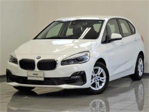 BMW 2シリーズ 218iアクティブツアラー LEDヘッドライト リヤビューカメラ パークディスタンスコントロール ドライバーアシスト 16インチダブルスポークアロイホィール