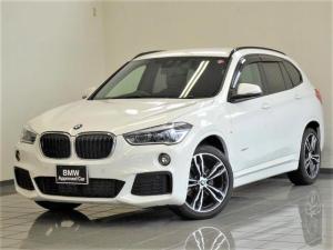 BMW X1 xDrive 18d Mスポーツハイラインパッケージ ブラウンレザー コンフォートアクセス アドバンスドセーフティーPkg リヤビューカメラ パークディスタンスコントロール アクティブクルーズコントロール ドライバーアシストプラス 19インチAW