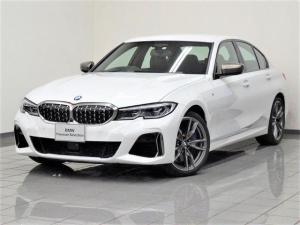 BMW 3シリーズ M340i xDrive ブラックレザー パーキングアシストプラス アダプティブMサスペンション BMWレザーライト アクティブクルーズコントロール ヘッドアップディスプレー Mスポーツブレーキ アンビエントライト 19AW