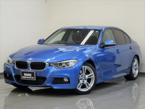 BMW 3シリーズ 320i Mスポーツ 18インチMアロイスタースポーク400 スポーツ・オートマチック リア・ビューカメラ BMW電動スポーツシート パークデスタンスコントロール キセノンヘッドライト Mサスペンション