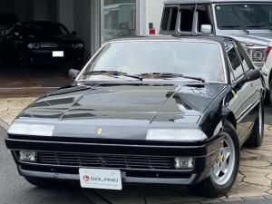 フェラーリ 412 ベースグレード ヨーロッパ新車並行 タンレザー パワーシート 純正15AW 純正車載工具 リトラクタブルライト 社外デッキ 禁煙車 消火器 ETC