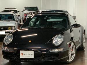 ポルシェ 911 911カレラS ティプトロニックS ディーラー車 左ハンドル ブラックレザー 純正19AW 純正HDDナビ PASM フルセグ対応 パワーシート シートヒーター レッドキャリパー 可変ウイング キセノン ETC