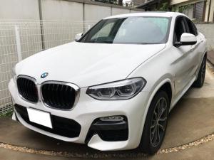 BMW X4 xDrive 30i Mスポーツ ディーラー車 右ハンドル イノベーションPKG ブラックレザー OP20AW パノラマルーフ 純正HDDナビ フルセグ LEDヘッドライト パワーゲート 全席Sヒーター 360°カメラ 追従クルコン